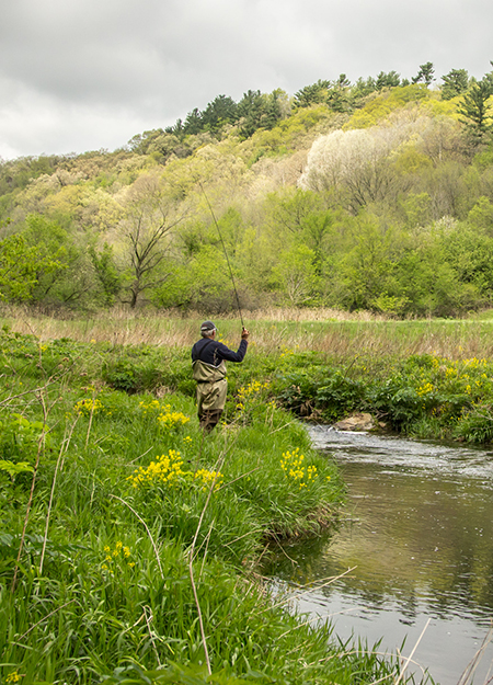 Driftless, MN Fishing