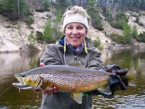 Aquatic biologist, fly fisher and author Ann Miller will be our September 21 speaker.