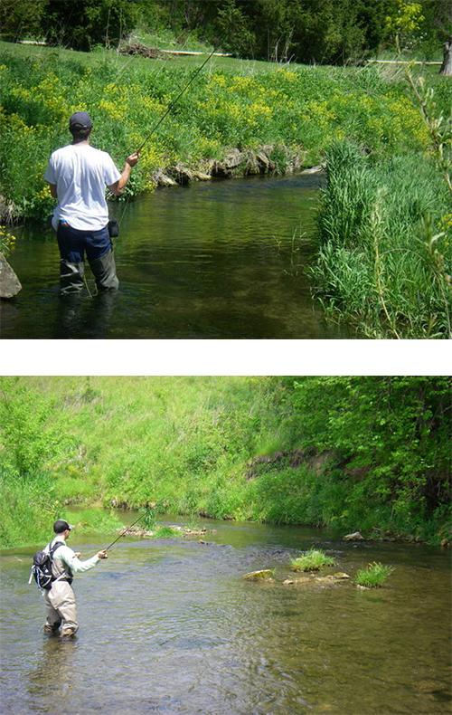 Driftless, WI Fishing
